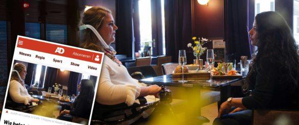 judith & luana café 't Wapen, ASSEN